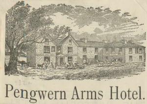Gwesty'r Pengwern Arms