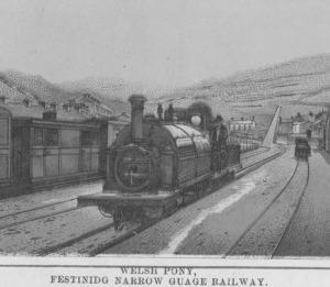 'The Welsh Pony'- Lein Fach Rheilffordd Ffestiniog