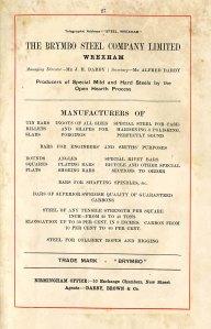 DD/LH/239 - Prosbectws y 'Brymbo Company', tua 1900