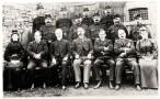 Warders a staff meddygol o Garchar Rhuthun tua 1916, PPD/90/250