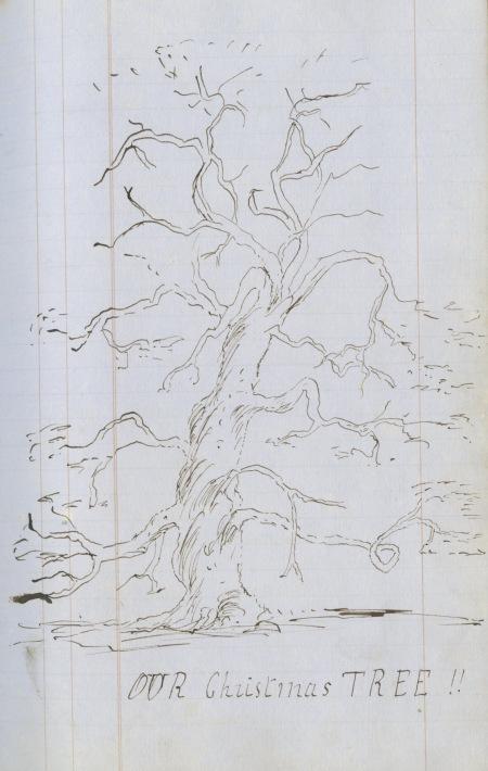 Dyddiadur Emily Edwards, Pentre House, Y Waun- 1868. DD/DM/972/1